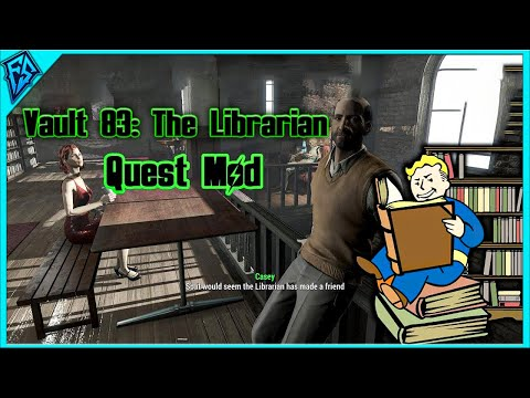 Forgot My Library Card!   Vault 83: The Librarian   Quest Mod   Fallout 4