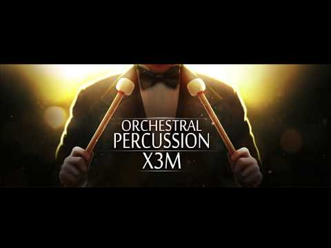 Orchestral Percussion X3M Walkthrough Video