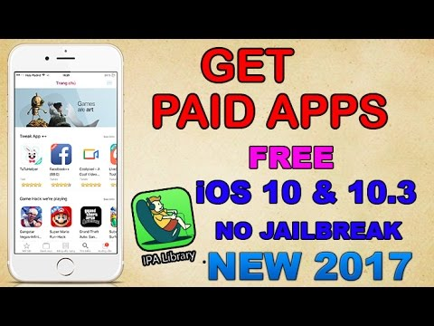 How to Get PAID Apps FREE + HACKED Apps/Games (NO JAILBREAK) (NO PC!!) iOS 10 - 10.3.1
