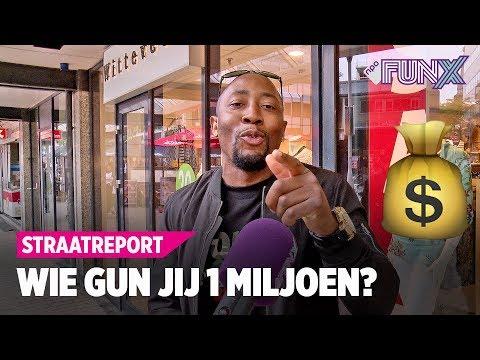 TILBURG: WIE GUN JIJ EEN MILJOEN?   FunX Straatreport #22