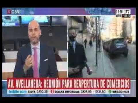 C5N - Mención por apertura de comercios en Av. Avellaneda