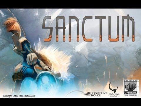 Играем в игру.Sanctum.