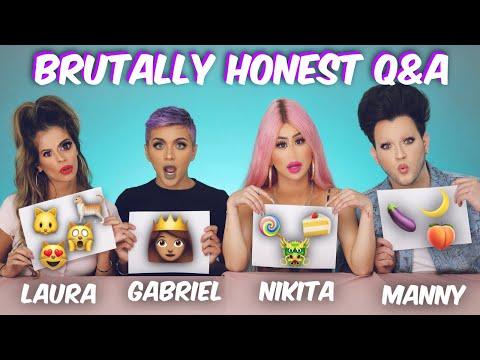 Brutally Honest Q & A w/ Laura Lee, Nikita Dragun & Manny Mua   Gabriel Zamora