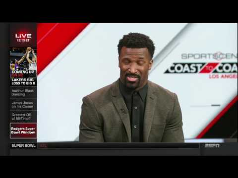 SportsCenter  James Jones On Tom Brady & Aaron Rodgers   January 23, 2017