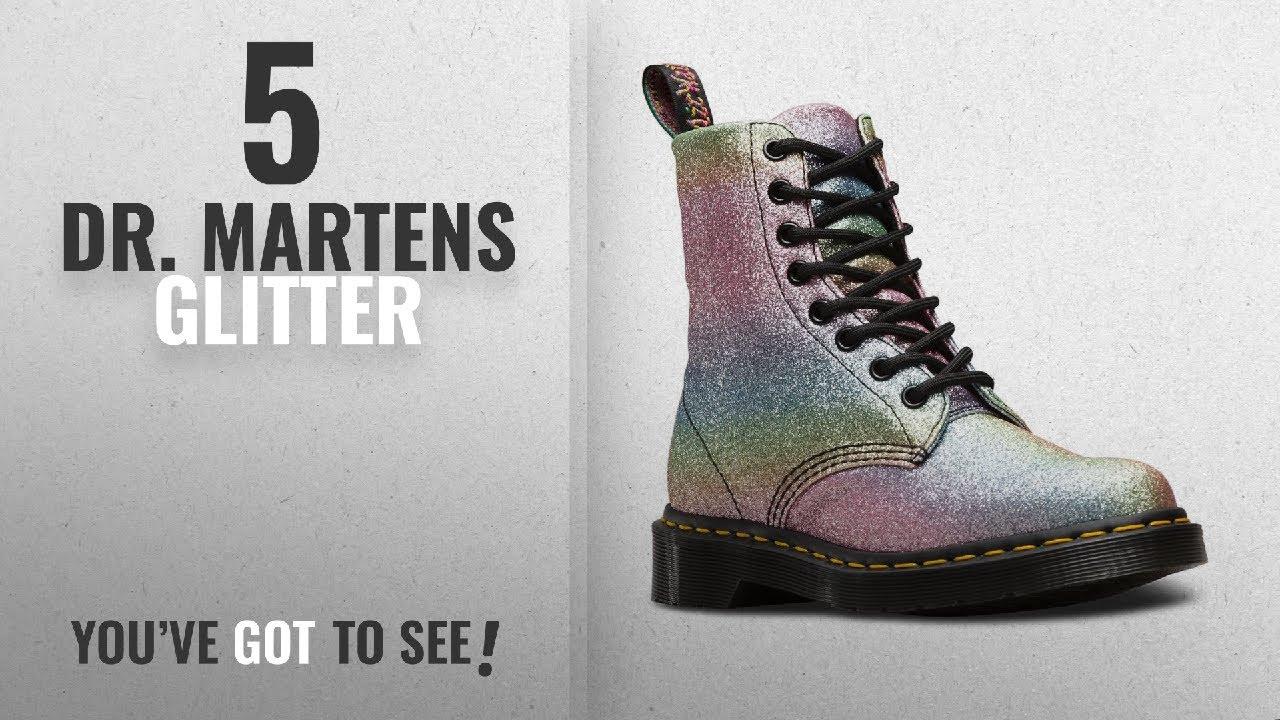 aa28bb22fe81 Top 5 Dr. Martens Glitter [2018]: Dr. Martens Women's Pascal GLTR Ankle Boot,  Glitter, 5 Medium UK