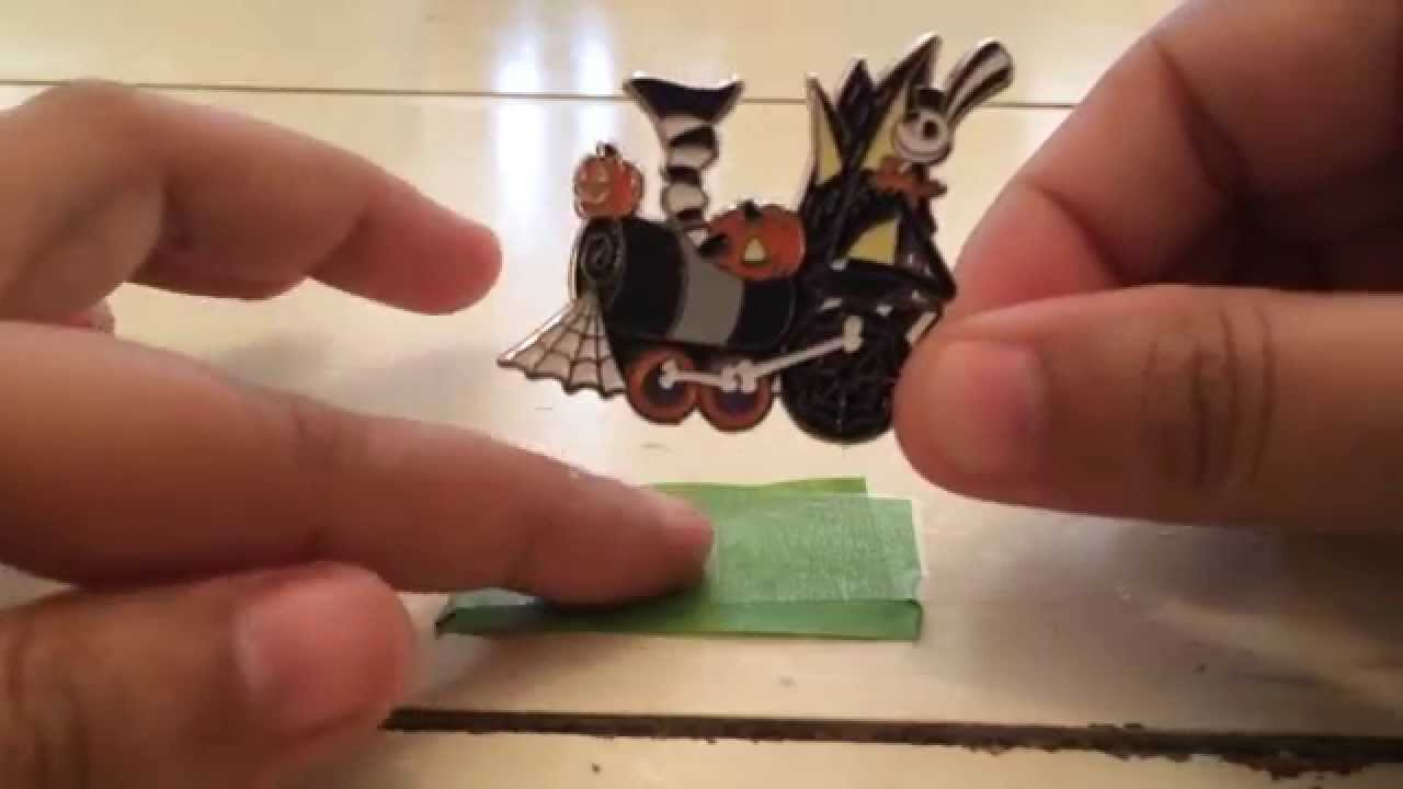 Nightmare Before Christmas Disney train pin set - YouTube