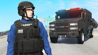 Playing as a HEAVY Police Officer in GTA 5!