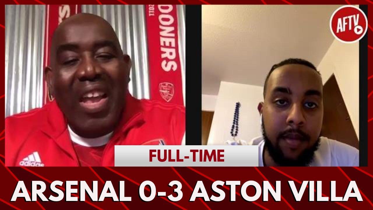 Arsenal 0-3 Aston Villa | Arsenal Are Boring! (Livz) - YouTube