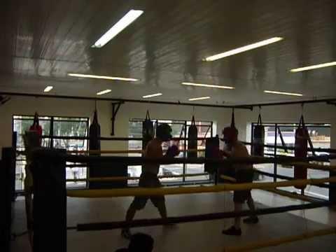 Sparring Na Academia Boxe Training