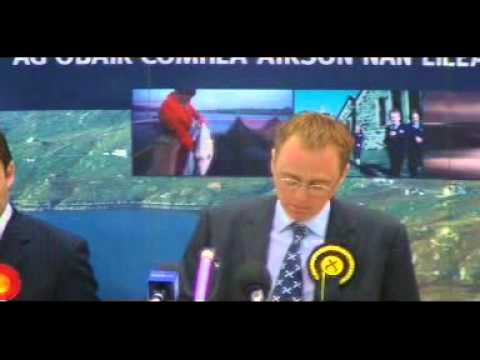Election Results Announcement 2007 - The Western Isles