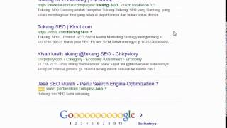 video pengenalan search engine google