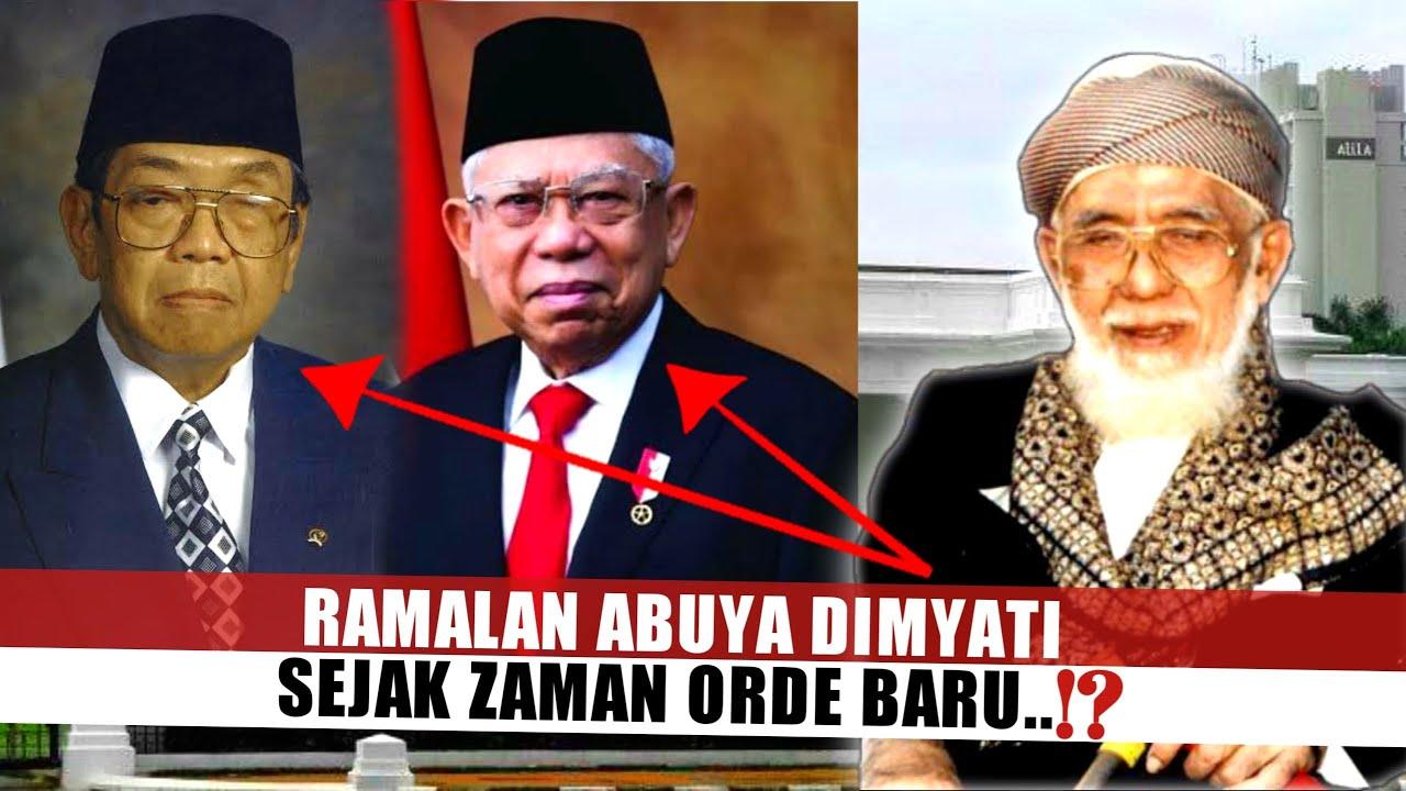 Karomah Abuya Dimyati Banten Terkait Ramalannya atas Keluarga Syekh Nawawi Al Bantani Pda Zaman Orba