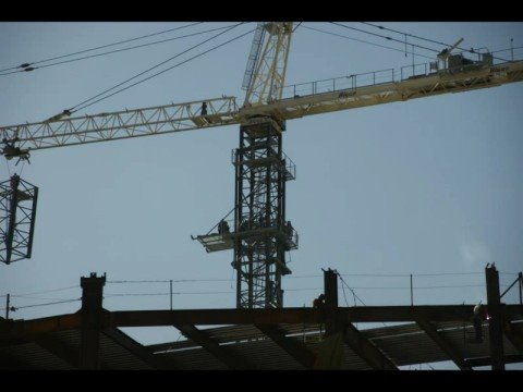 Tower Crane Raising Process