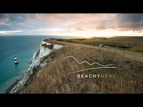 Beachy Head, Sussex Drone Flight (4K)