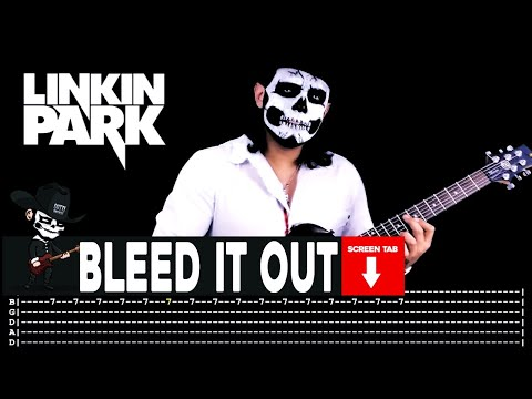 Linkin Park - Bleed It Out (Guitar Cover by Masuka W/Tab)