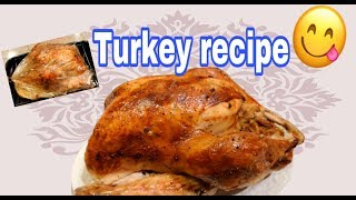 Thanksgiving Turkey recipe | Cook in Reynolds Oven Bag | delicious moist Turkey | American food