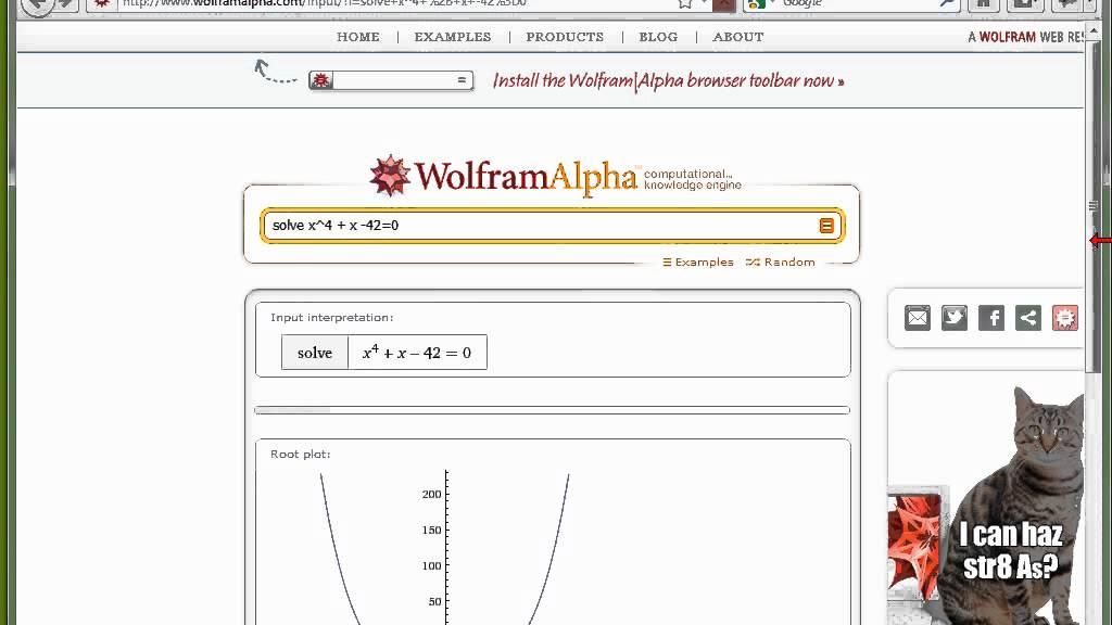 02 wolfram alpha teil 1 plots gleichungen. Black Bedroom Furniture Sets. Home Design Ideas