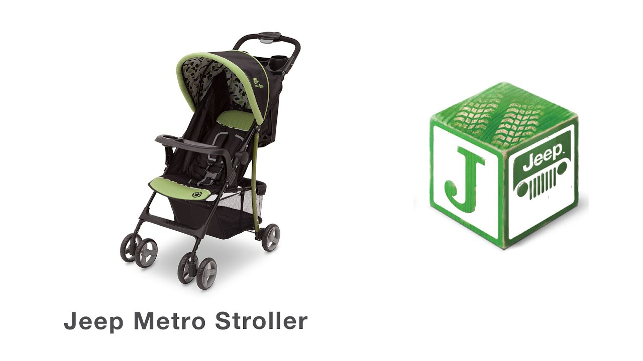 j is for jeep metro stroller assembly video - youtube