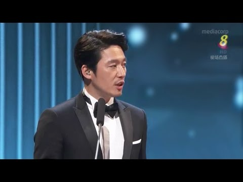 Presenter[Cut-1]Jang Hyuk 장혁Singapore <Star Awards 2017> Top 10 Most Popular Male Artistes
