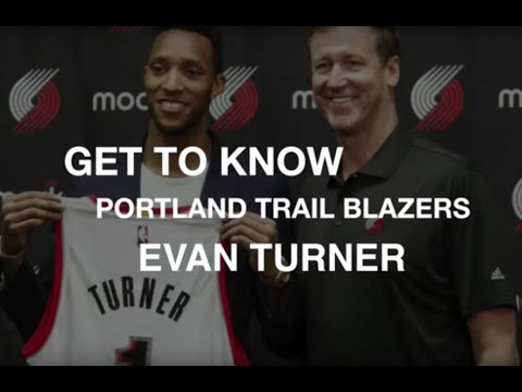 Get to know Portland Trail Blazers Evan Turner off the court
