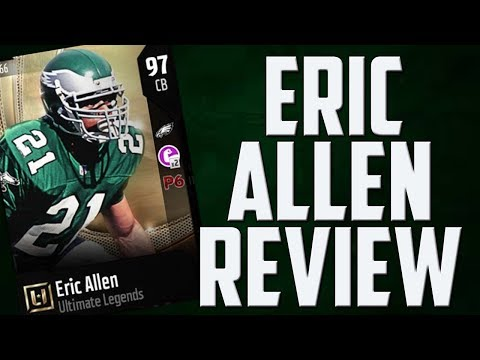 How Good is 97 Overall Eric Allen? MUT 18 Card Review