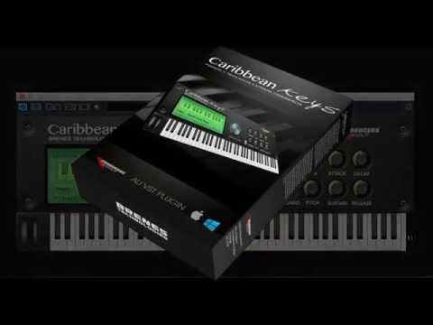 Caribbean Keys VST Demo - Virtual Piano Module for Latin Music VST and Audio Units AU