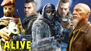 All 8 Returning Dead Characters & How They Died (Al-Asad, Shepherd,Soap,Ghost) - Modern Warfare 2019
