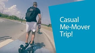 Casual Me-Mover Trip to the Gym   GoPro Video   Me-Mover Fitness