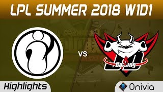 IG vs JDG Highlights Game 2 LPL Summer 2018 Invictus Gaming vs JD Gaming by Onivia