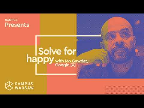 Campus Present: Mo Gawdat, Chief Business Officer, Google X
