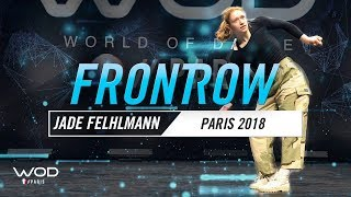 JADE FEHLMANN | World of Dance Paris Qualifier 2018 | FrontRow