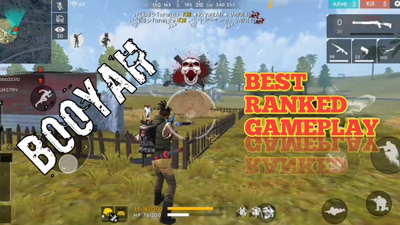 Best Ranked Squad and Duo Match Gameplay - Garena Free Fire
