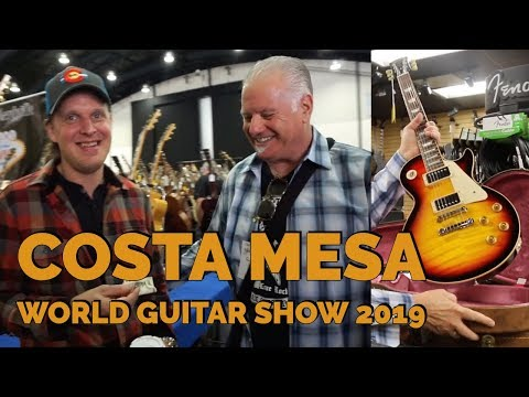 best sneakers f36af 26004 Norm shopping at the Costa Mesa World Guitar Show 2019   Norman s Rare  Guitars - YouTube