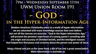 "The Gathering Series - ""God in the Hyper-Information Age"""