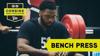 2019 National Combine: Bench Press