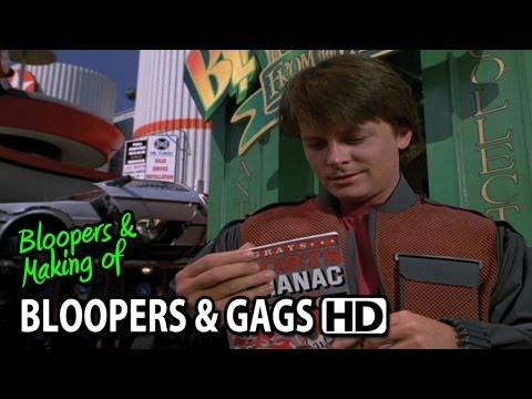 Back to the Future Part II (1989) Bloopers, Gag Reel & Outtakes