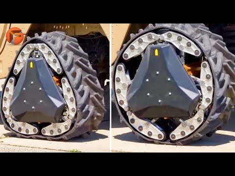 This FUTURISTIC WHEEL can change shape