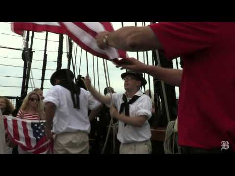 USS Constitution ventures out for turnaround on Independence Day