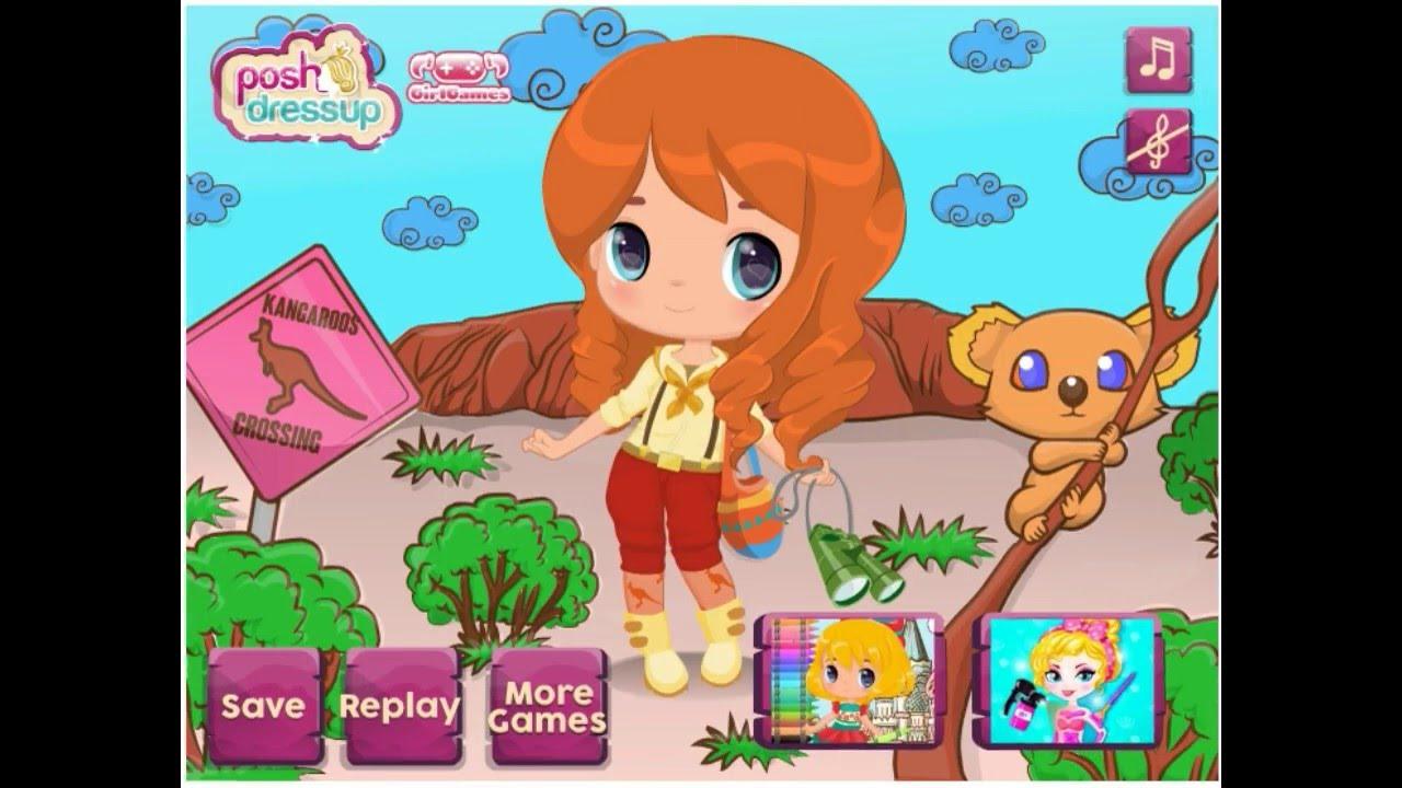Baby Around The World In Australia Baby Hazel Games Dora