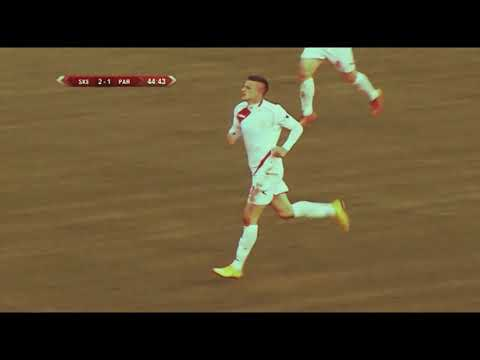 STEVAN RACIC (FK Partizani Tirana Goals, Skills And Best Moments)