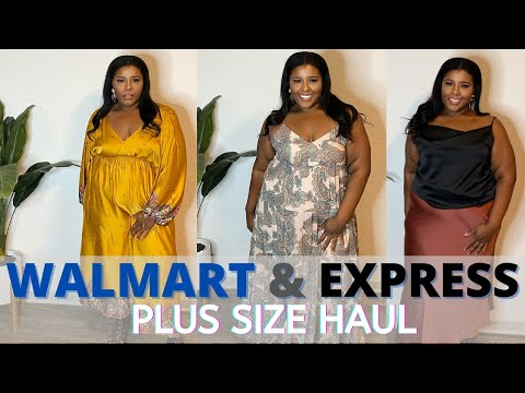 Bargains Rock End Of Summer Plus Clothing Haul Featuring Walmart Express Youtube