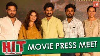 HIT Movie Release Press Meet | Vishwak Sen | Ruhani Sharma | Nani