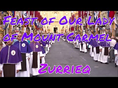 Feast of Our Lady of Mount Carmel, Zurrieq, Malta.