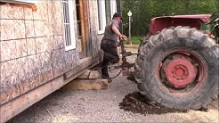 Moving Day Is Here// Can Our 165 Massey Ferguson Tractor Pull Our House//
