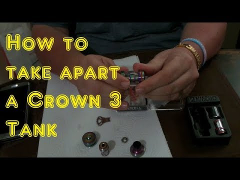 Uwell Crown 3 | How to take apart