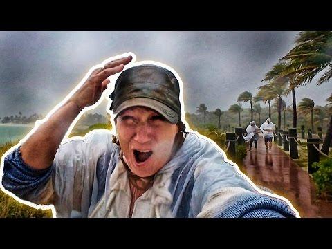 TROPICAL STORM IN CASTAWAY CAY! | DISNEY CRUISE | DISNEY DREAM 2017