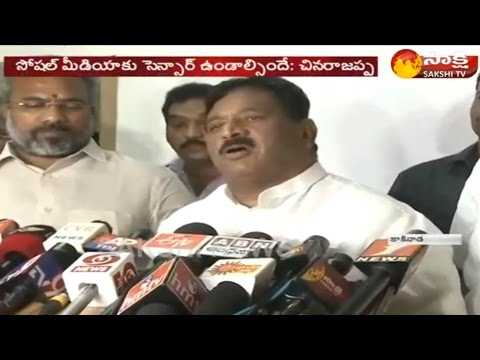 Chinarajappa Warned That Restrictions On Social Media Will Continue