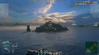СУРОВО  307 000 урона 24 короткие торпеды Shimakaze
