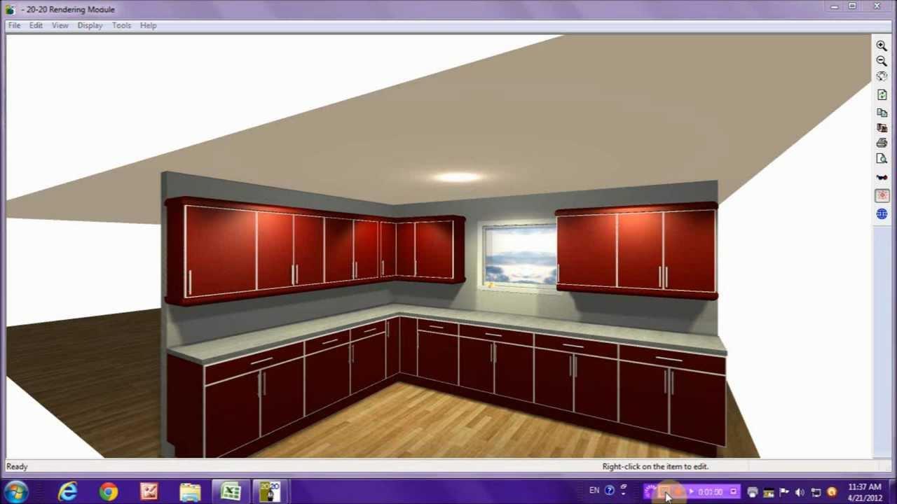 How 3d Design Kitchen Make