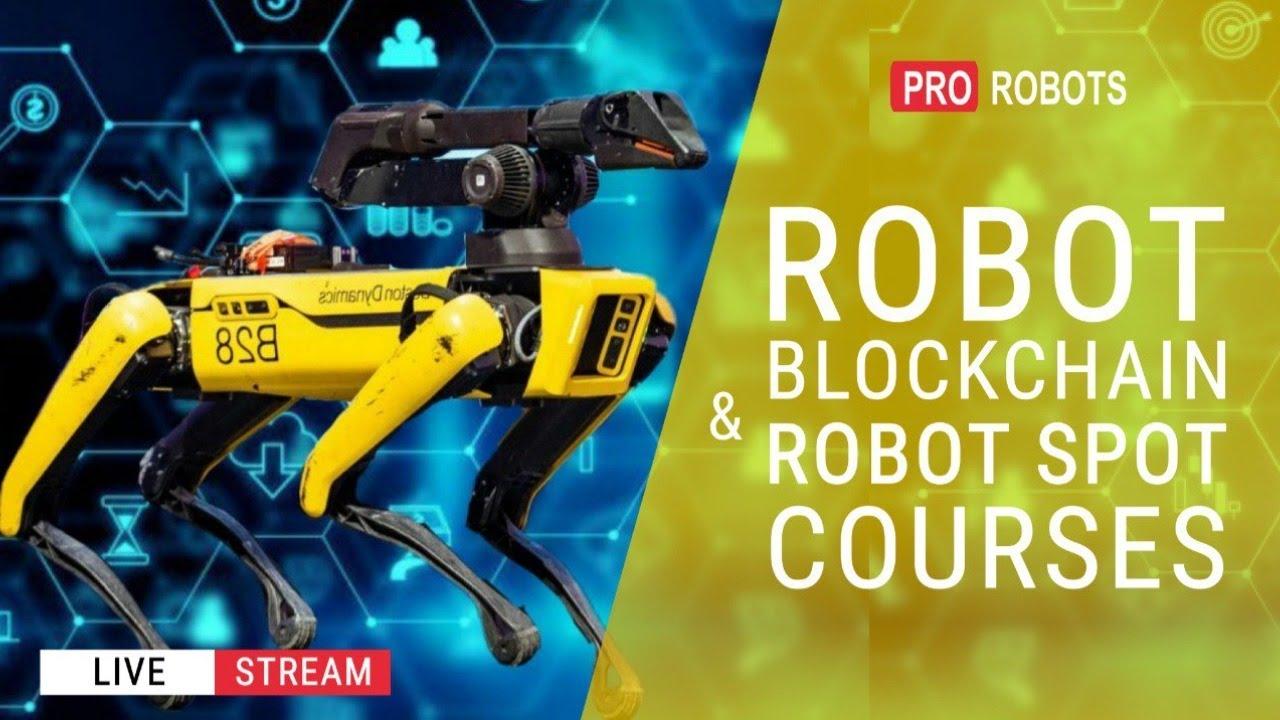 Blockchain for Robots & Robot Spot Courses